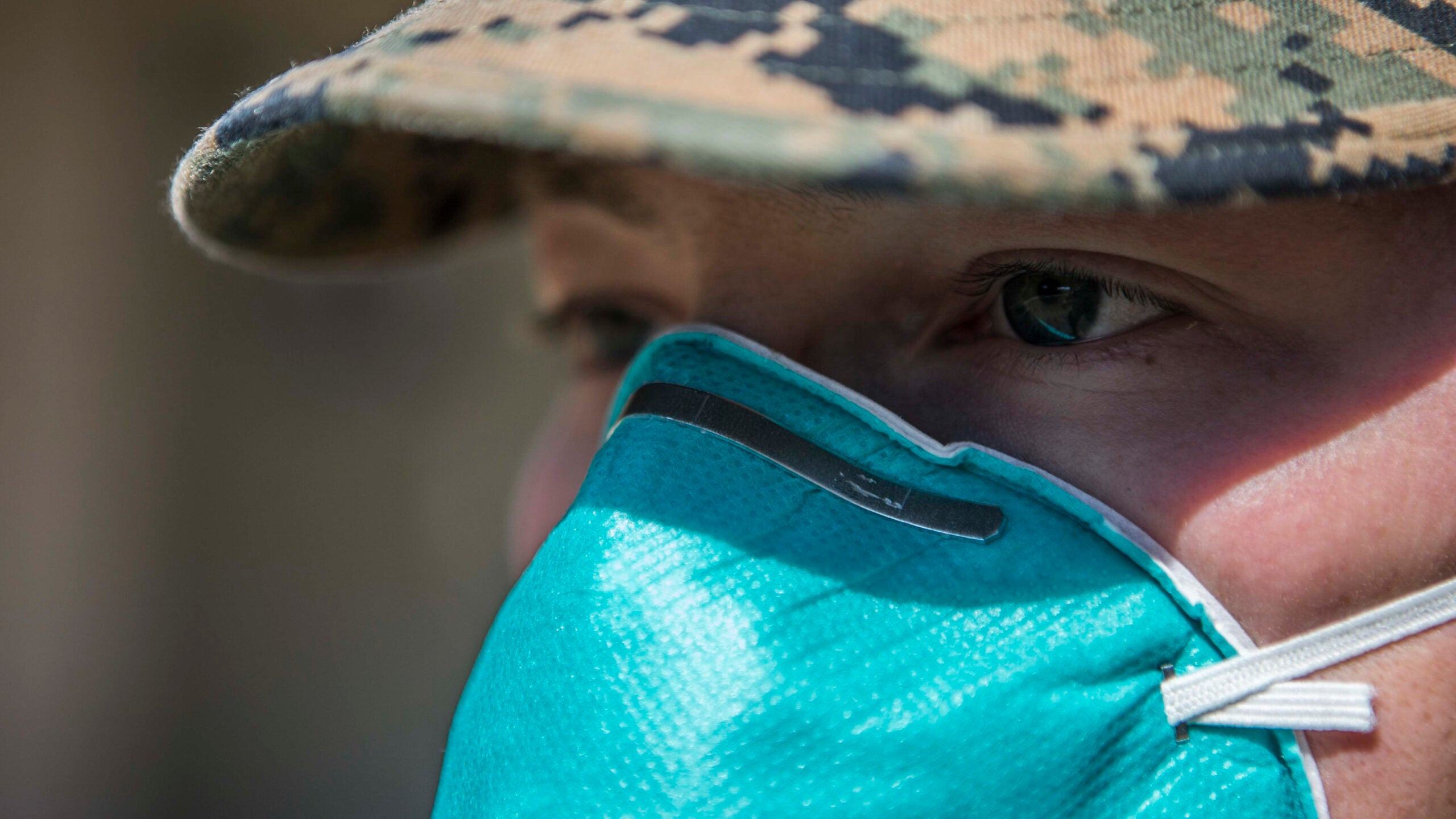 Defense Secretary directs troops to wear face coverings when social distancing isn't possible