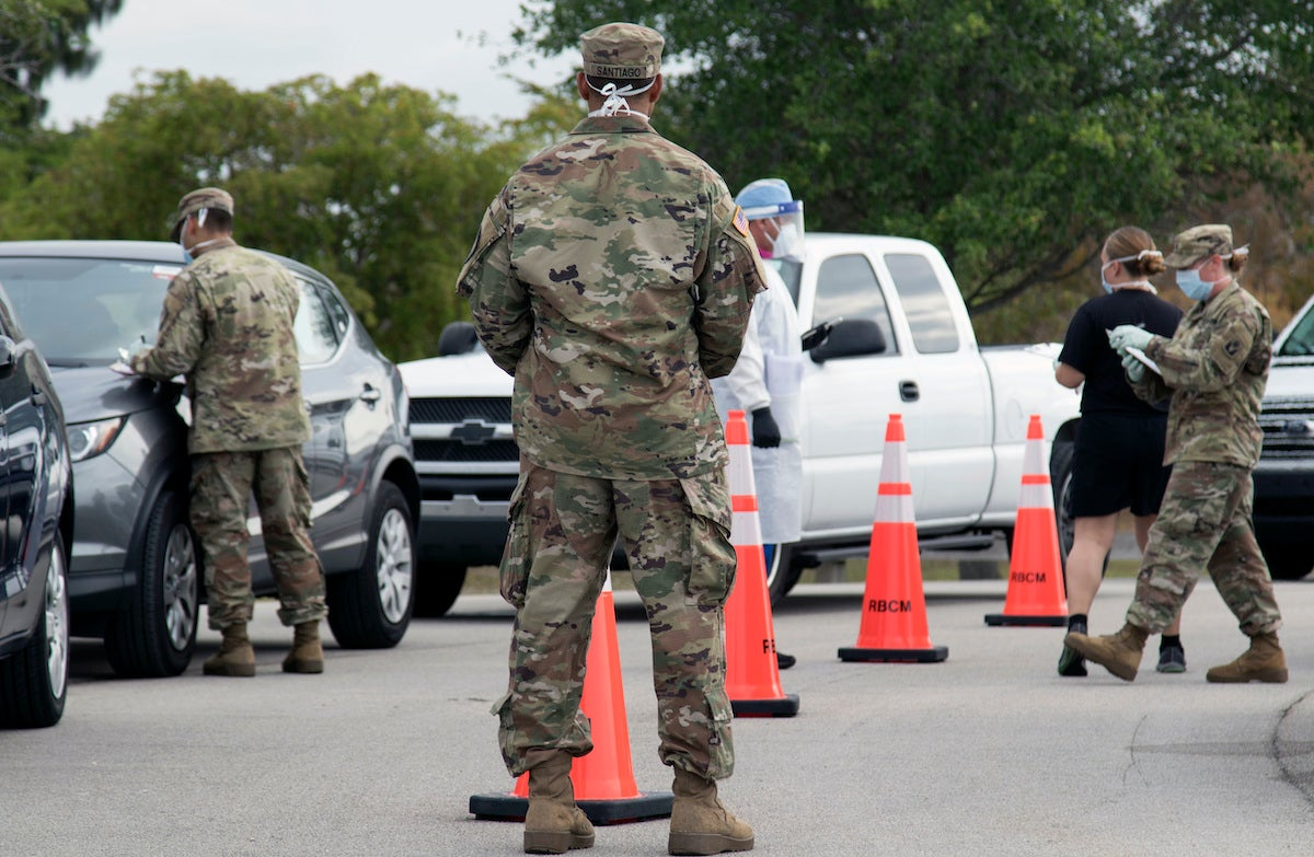 Will troops continue to receive special pays amid the COVID-19 pandemic? It depends