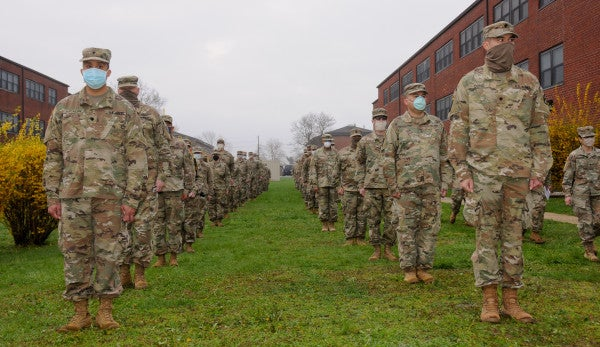 US troops responding to the COVID-19 pandemic could receive hazardous duty pay and awards