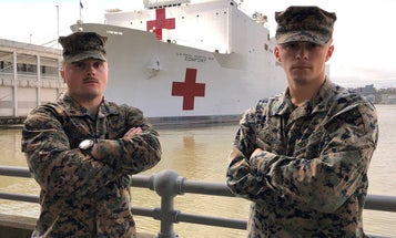 We salute the pair of Marines who saved dying COVID-19 patients on a NYC pier