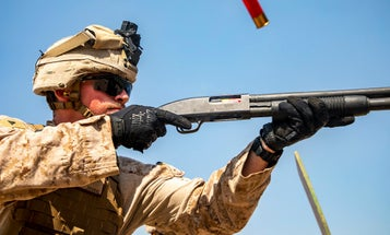 The Marine Corps is working on a Taser shotgun round to down targets more than 100 yards away