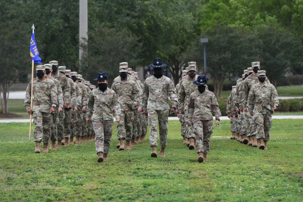 Hundreds of Army and Air Force recruits have tested positive for COVID-19 since March