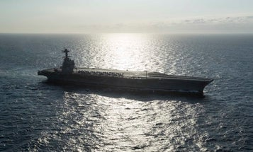 A power problem aboard the Navy's $13 billion supercarrier left it unable to launch aircraft for days