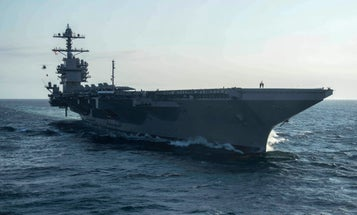 Navy fighter squadron pulled off USS Gerald R. Ford after sailor tests positive for COVID-19