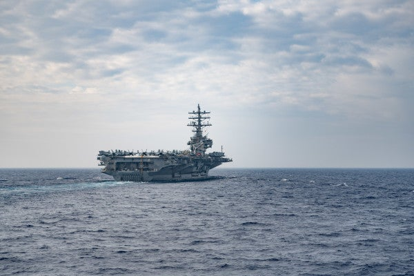 US sends two Navy carriers to the South China Sea during Chinese military exercise
