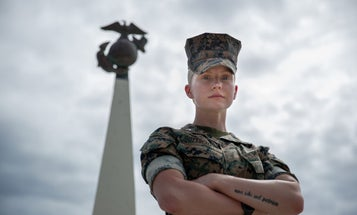 'We are far from where we need to be' — This Marine has made it her mission to fight discrimination in the ranks