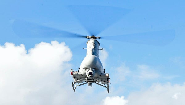 Meet the Navy's newest unmanned helicopter