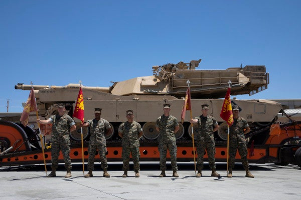 The Marine Corps has started kissing its tanks goodbye