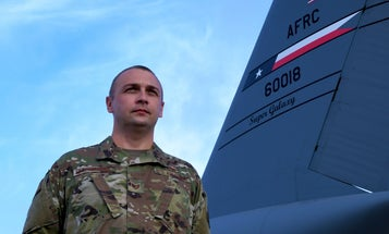 A former war refugee lives the American dream as a Reserve airman