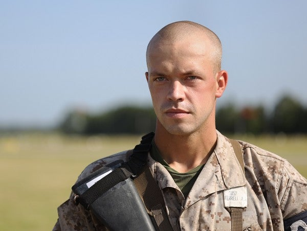 This might be the deadliest Marine Corps recruit on Parris Island