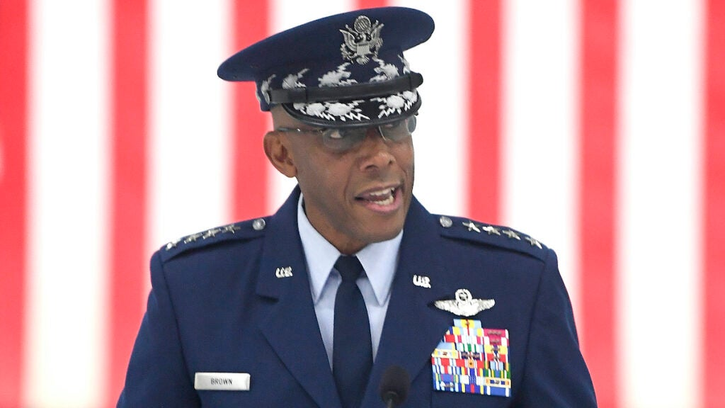 Neither of the top Air Force general's two favorite military movies are about the Air Force