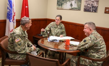 The new Army Reserve chief is planning to (virtually) crash your staff meetings