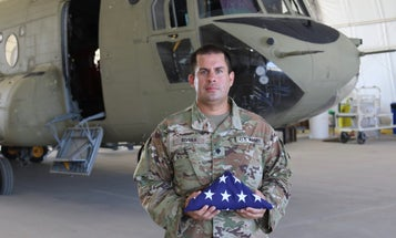 Deployed soldier becomes US citizen