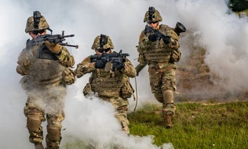 The Army is considering changing the size of its infantry squads