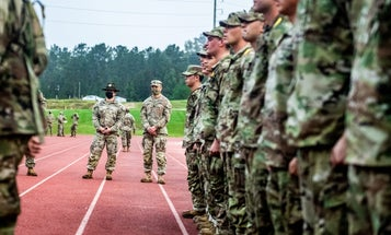Watch new infantry recruits experience the Army's replacement for drill sergeant 'shark attacks'
