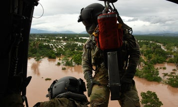 We salute the Army Black Hawk crew who saved a child from hurricane floodwaters in Honduras