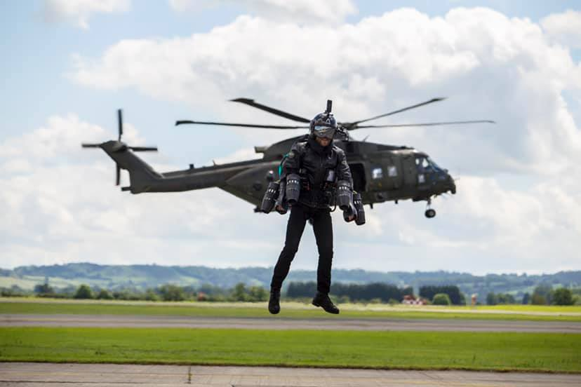 The British Royal Navy is testing out jetpack assault teams
