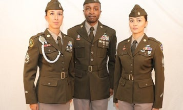 These bases will be the first to receive the Army's new 'pink and greens' uniform