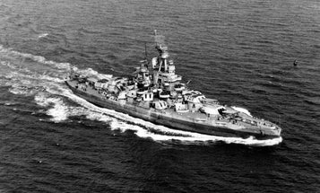 Battleship USS Nevada, a symbol of American 'resilience and stubbornness,' rediscovered after 72 years
