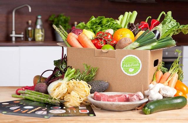 Hello Fresh Box from Flickr via Wylio