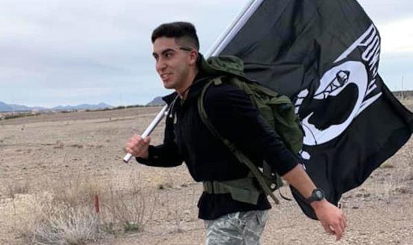 A lone airman ran his own race after coronavirus cancelled the Bataan Memorial Death March