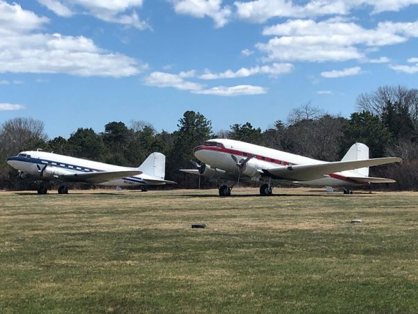 'Equivalent to pushing down a WWII vet' — Airfield furious over vandalized WWII-era planes