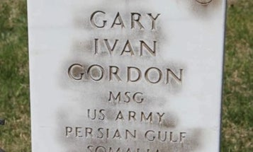 Police are investigating the possible vandalism of a Medal of Honor recipient's gravestone