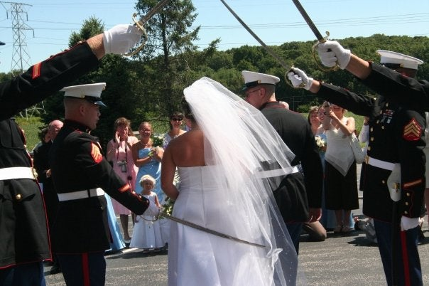 Here's the History Behind These Popular Military Wedding Traditions