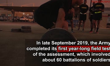 New Army Combat Fitness Test