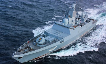 Russia conducts first ship-based hypersonic missile test