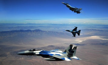 The Pentagon wants to pit a fighter pilot against an AI-controlled jet in a real-life dogfight