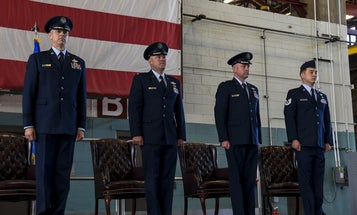 Three airmen earn awards for saving hundreds of special operators during Iranian missile attack