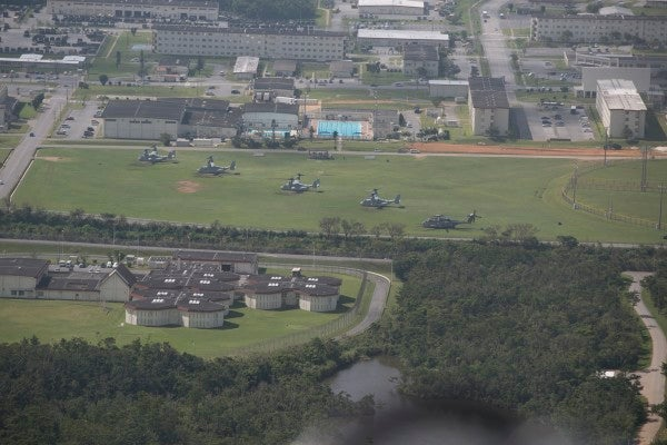 On a Marine Corps base in Japan, the mold will continue until morale improves