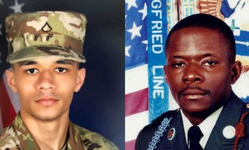 Son of legendary soldier Alwyn Cashe follows in his father's footsteps