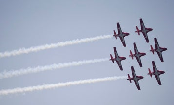 Canadian air force jet crashes in residential neighborhood during COVID-19 flyover