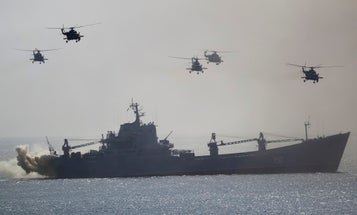 The US may have postponed its massive European war games, but Russia sure as hell didn't
