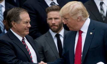 'He'd be as good as any general out there' — Trump says he'd seek military advice from Patriots coach Bill Belichick
