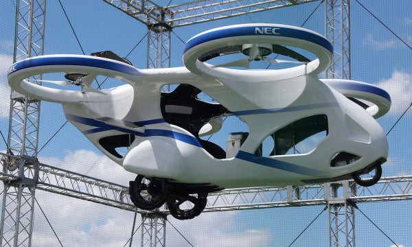 The Air Force is about to put up $10 million to make flying cars a reality