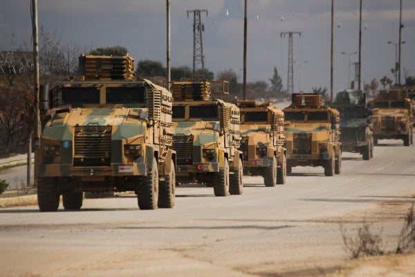 Turkey is crushing Syria's army after wiping out its heavy armor with superior tech