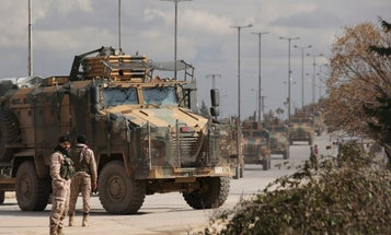 Turkey retaliates against Syrian forces after 33 of its soldiers killed in air strikes