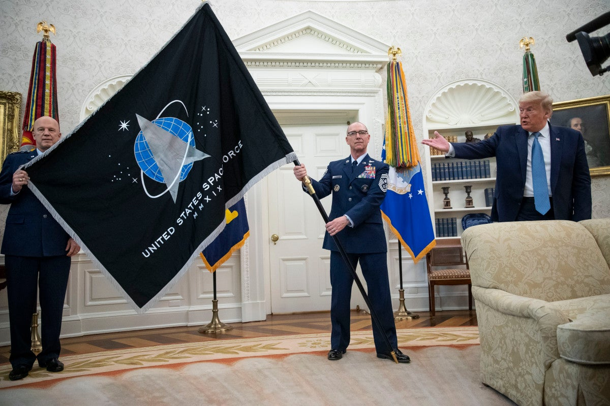 The Space Force has its first-ever doctrine: 'Spacepower'