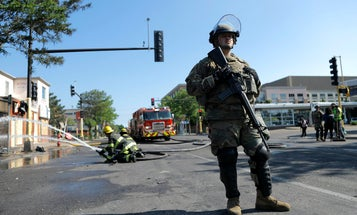 Minnesota National Guard carrying guns and ammo in response to 'credible threat,' general says