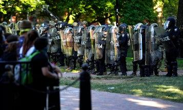 Army National Guard officer says police used 'excessive' force on protestors outside the White House
