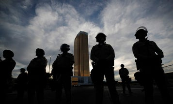Marine veteran arrested for impersonating federal agent during Las Vegas protest