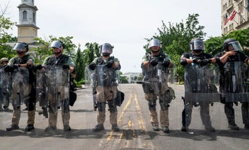 New legislation would bar the use of military force against peaceful protestors