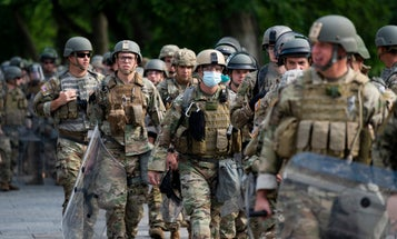 Several hundred more active-duty troops ordered to leave the Washington DC region