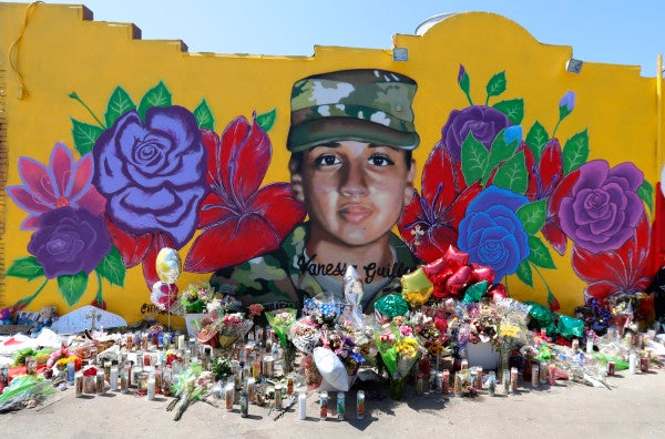 Memorial honors Vanessa Guillen as slain soldier's family seeks congressional investigation