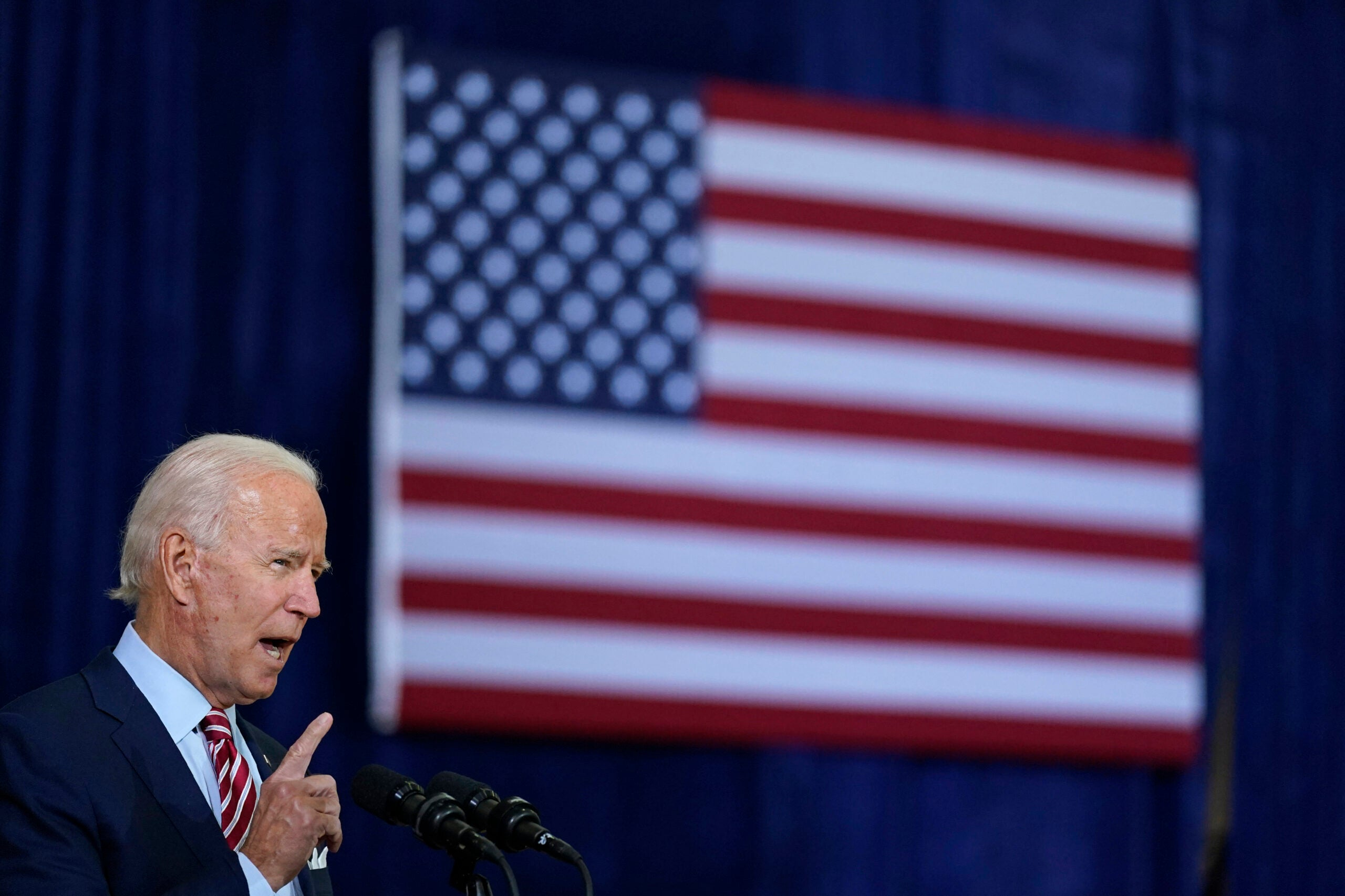 Joe Biden trotted out the trope of the damaged veteran during a recent campaign speech