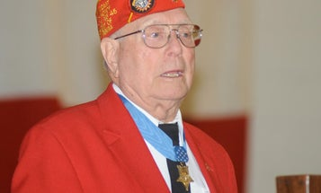 75 years ago, a farm boy became a Medal of Honor hero with a flamethrower at Iwo Jima