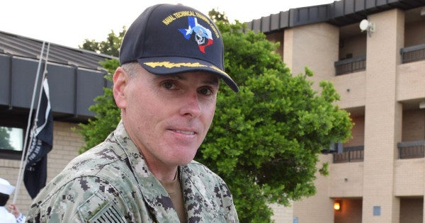 Navy fires commanding officer of Texas training center